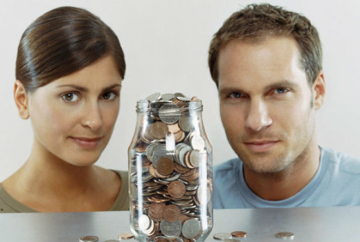 Распределение семейного бюджета на месяц
