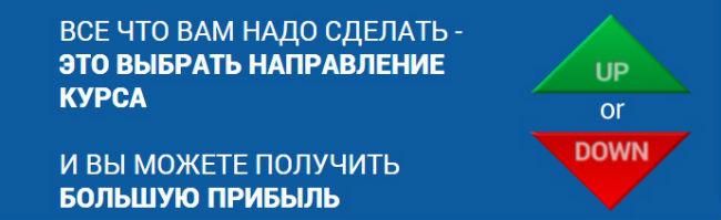 Инвестиции в бинарные опционы от 100 рублей