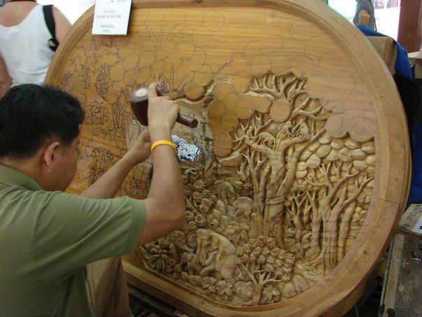 Резьба по дереву - изделия на продажу